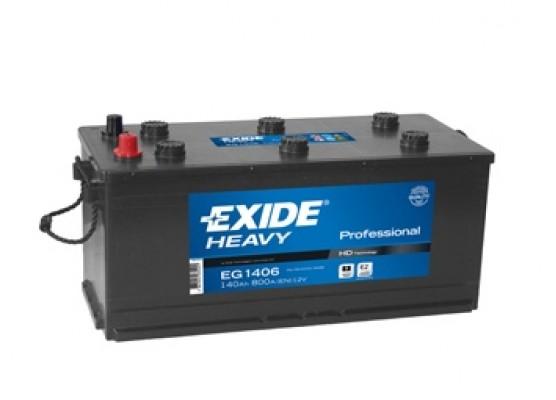 Μπαταρία Exide Professional EG1406 - 12V 140Ah - 800CCA A(EN) εκκίνησης