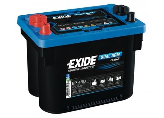 Μπαταρία Exide DC EP 450 ( Maxxima 900 ) - 12V 50Ah - 750CCA A(EN) εκκίνησης