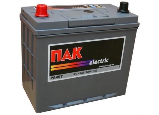 Μπαταρία αυτοκινήτου Πακ Electric PA457 - 12V 45 Ah - 390CCA A(EN) εκκίνησης