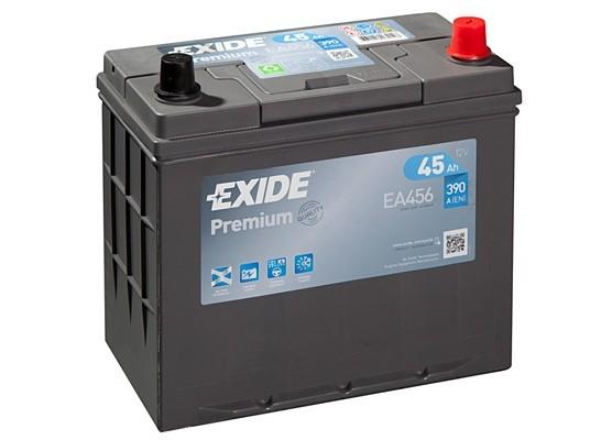 Μπαταρία αυτοκινήτου Exide Premium EA456 - 12V 45 Ah - 390CCA A(EN) εκκίνησης