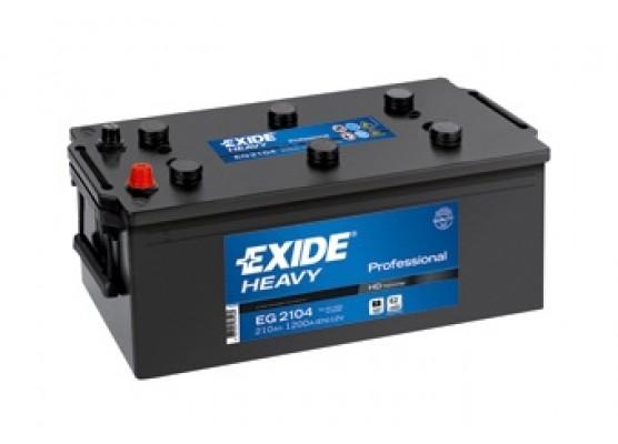 Μπαταρία Exide Professional EG2104 - 12V 210Ah - 1200CCA A(EN) εκκίνησης