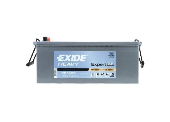 Μπαταρία Exide Expert EE1403 - 12V 140Ah - 760CCA A(EN) εκκίνησης