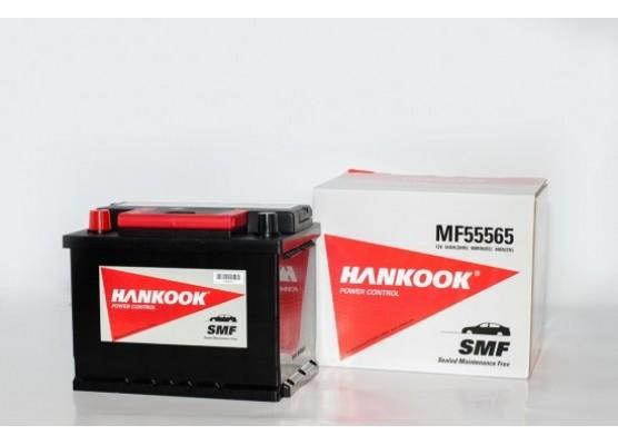 Μπαταρία αυτοκινήτου Hankook MF55565 - 12V 55Ah - 480CCA(EN) εκκίνησης