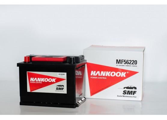 Μπαταρία αυτοκινήτου Hankook MF56220 - 12V 62Ah - 540CCA(EN) εκκίνησης