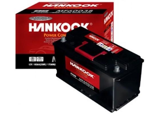 Μπαταρία αυτοκινήτου Hankook MF26-550- 12V 60Ah - 550CCA(EN) εκκίνησης