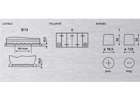 Μπαταρία αυτοκινήτου Varta Silver H3 - 12V 100 Ah - 830CCA A(EN) εκκίνησης