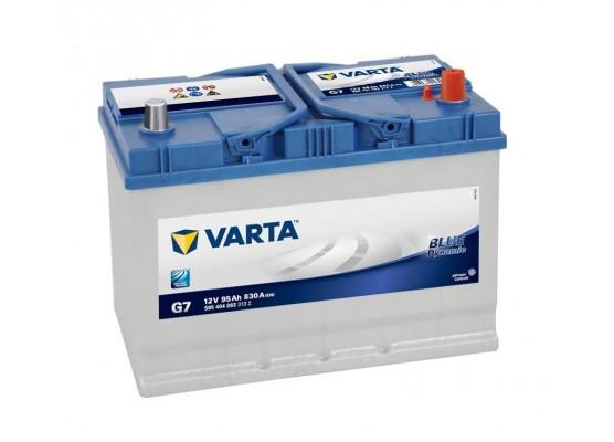 Μπαταρία αυτοκινήτου Varta Blue G7 - 12V 95 Ah - 830CCA A(EN) εκκίνησης