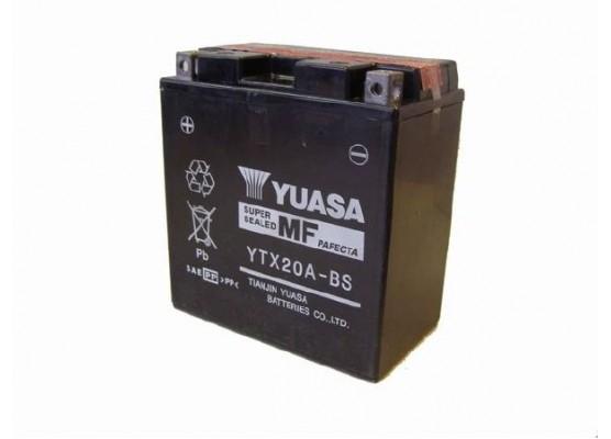 Μπαταρία μοτοσυκλετών YUASA Maintenance Free YTX20A-BS (YTX20CH-BS) - 12V 17 (10HR)Ah - 270 CCA(EN) εκκίνησης