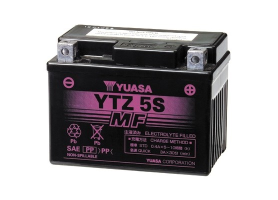 Μπαταρία μοτοσυκλετών YUASA INDO High Performance Maintenance Free YTZ5S -12V 3.5 (10HR)Ah - 65 CCA(EN) εκκίνησης