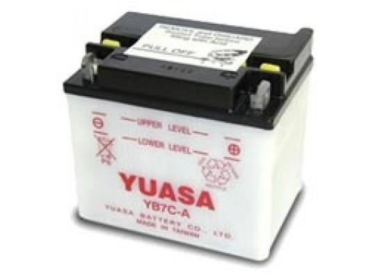 Μπαταρία μοτοσυκλετών YUASA Yumicron YB7C-A - 12V 7.4 (20HR) - 124 CCA (EN) εκκίνησης