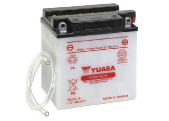 Μπαταρία μοτοσυκλετών YUASA Yumicron YB10L-B - 12V 11 (10HR) - 160 CCA (EN) εκκίνησης