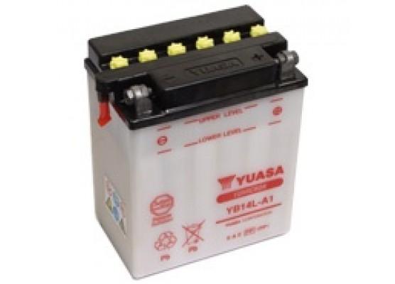 Μπαταρία μοτοσυκλετών YUASA Yumicron YB14L-A1 - 12V 14 (10HR) - 190 CCA (EN) εκκίνησης