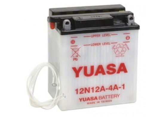 Μπαταρία μοτοσυκλετών YUASA Conventional 12N12A-4A-1 - 12V 12 (10HR) - 113 CCA (EN) εκκίνησης
