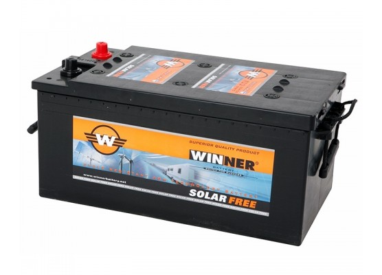 Μπαταρία Winner Solarfree WF210 - 12V 210Ah (C100)
