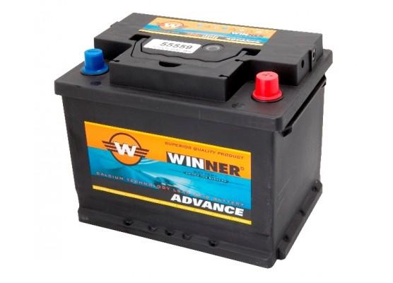 Μπαταρία αυτοκινήτου Winner Advance 56638 - 12V 66Ah - 540CCA εκκίνησης