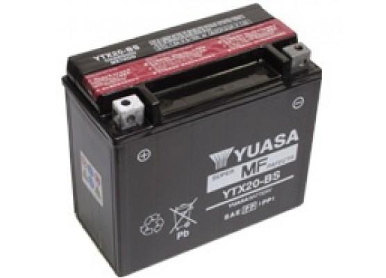 Μπαταρία μοτοσυκλετών YUASA Maintenance Free YTX20-BS - 12V 18 (10HR)Ah - 270 CCA(EN) εκκίνησης
