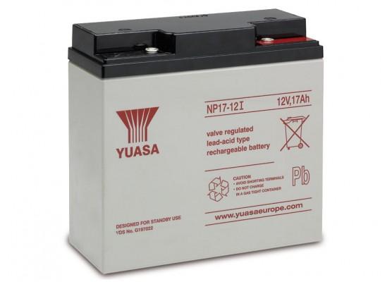 Μπαταρία YUASA NP17-12l VRLA - AGM τεχνολογίας - 12V 17Ah