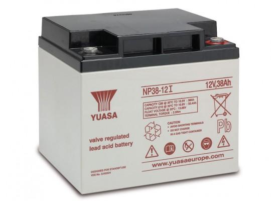 Μπαταρία YUASA NP38-12l VRLA - AGM τεχνολογίας - 12V 38Ah