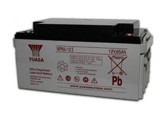 Μπαταρία YUASA NP65-12l VRLA - AGM τεχνολογίας - 12V 65Ah