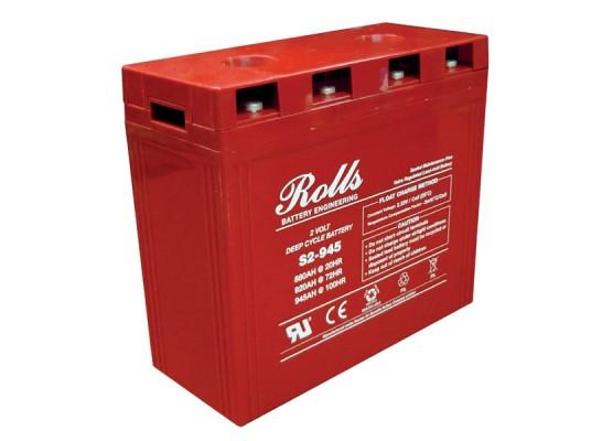 Μπαταρία Rolls Series AGM βαθιάς εκφόρτισης S2-945AGM - 2V 880Ah (C20)