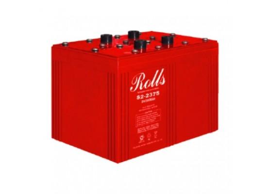 Μπαταρία Rolls Series AGM βαθιάς εκφόρτισης S2-2375AGM - 2V 2200Ah