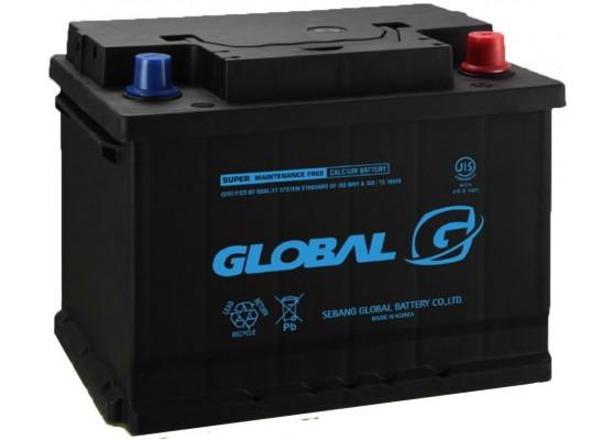 Μπαταρία αυτοκινήτου ευρωπαϊκού τύπου GLOBAL SMF 55457 - 12V 54Ah - 510CCA(SAE) εκκίνησης
