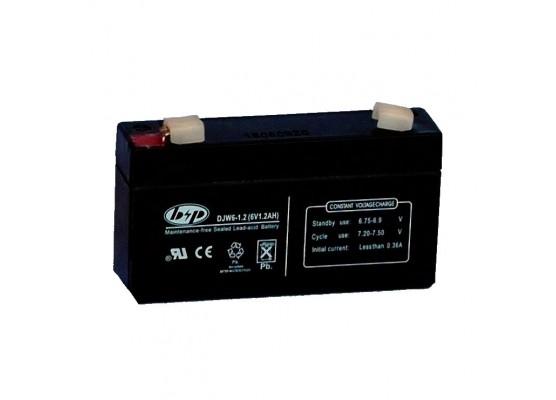 Μπαταρία B&P DJW 6-1.2 VRLA - AGM τεχνολογίας - 6V 1.2Ah