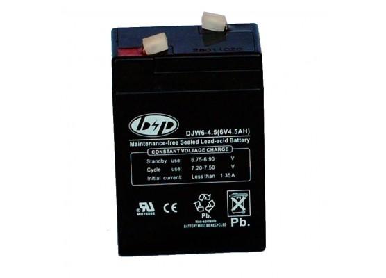 Μπαταρία B&P DJW 6-4.5 (T1) VRLA - AGM τεχνολογίας - 6V 4.5Ah (C20)