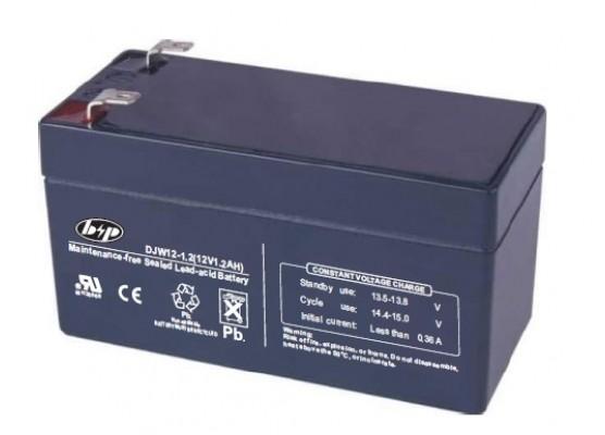 Μπαταρία B&P DJW 12-1.2 VRLA - AGM τεχνολογίας - 12V 1.2Ah