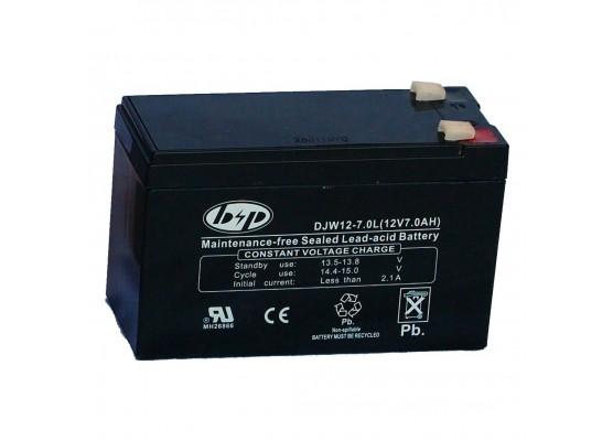 Μπαταρία B&P DJW 12-7.0 VRLA - AGM τεχνολογίας - 12V 7.0Ah (C20)