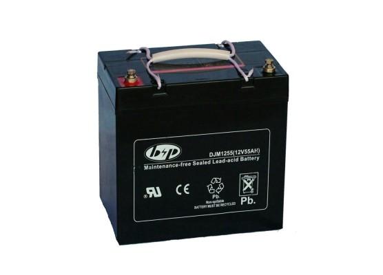 Μπαταρία B&P DJM 12-55(M6) VRLA - AGM τεχνολογίας - 12V 55Ah (C20)
