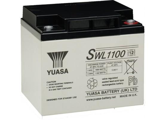 Μπαταρία YUASA SWL 1100VRLA - AGM τεχνολογίας - 12V 39.6Ah (C10)