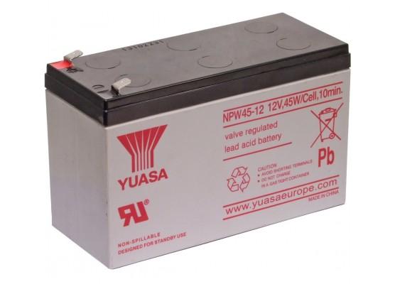 Μπαταρία YUASA NPW45-12 VRLA - AGM τεχνολογίας - 12V 9Ah