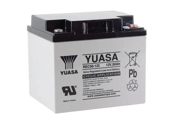 Μπαταρία YUASA REC50-12 VRLA - AGM τεχνολογίας - 12V 45Ah
