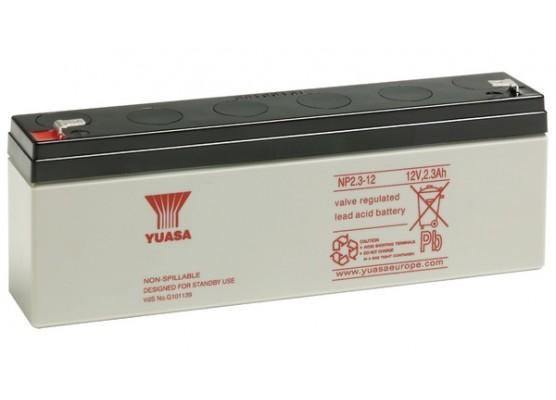 Μπαταρία YUASA NP2.3-12 VRLA - AGM τεχνολογίας - 12V 2.3Ah
