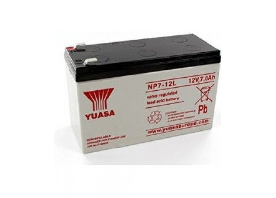 Μπαταρία YUASA NP7-12L VRLA - AGM τεχνολογίας - 12V 7Ah