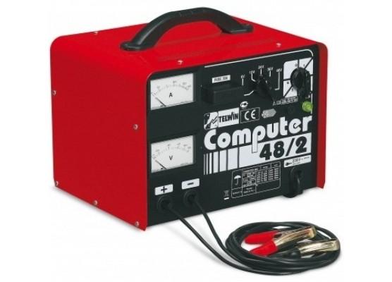 Φορτιστής μπαταριών Telwin COMPUTER 48/2 PROFESSIONAL - 6V / 12V / 24V / 36V / 48V P.N. 807063
