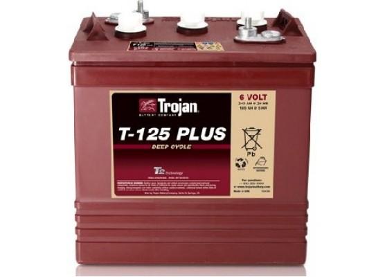Μπαταρία Trojan Deep - Cycle Flooded βαθιάς εκφόρτισης T-125 Plus- 6V 240Ah (C20)
