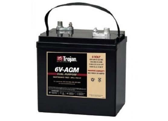 Μπαταρία Trojan Deep - Cycle AGM βαθιάς εκφόρτισης 6V - AGM - 6V 200Ah (C20)