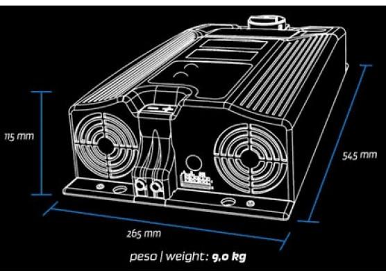 Φορτιστής μπαταριών ZIVAN NG9 24 - 145 Code.G8BZMW-C40E0Q