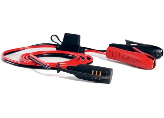 Καλώδιο αναμονής φορτιστών CTEK 56-384 με ένδειξη στάθμης φόρτισης και δαγκάνες / Comfort Indicator Clamps