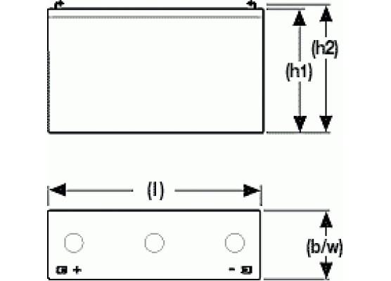 Μπαταρία Sonnenschein A506/10 S - GEL τεχνολογίας - 6V 10Ah