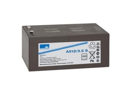 Μπαταρία Sonnenschein A512/3.5 S - GEL τεχνολογίας - 12V 3.5Ah