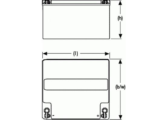 Μπαταρία Sonnenschein A512/25 G5 - GEL τεχνολογίας - 12V 25Ah