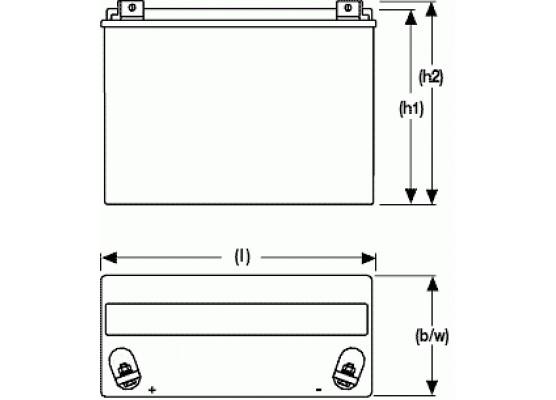 Μπαταρία Sonnenschein A512/30 G6 - GEL τεχνολογίας - 12V 30Ah