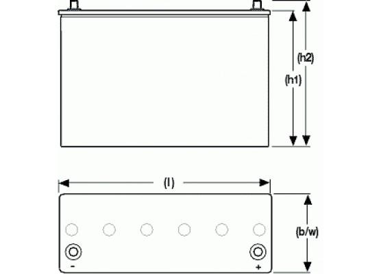 Μπαταρία Sonnenschein A512/55 A - GEL τεχνολογίας - 1 2V 55Ah