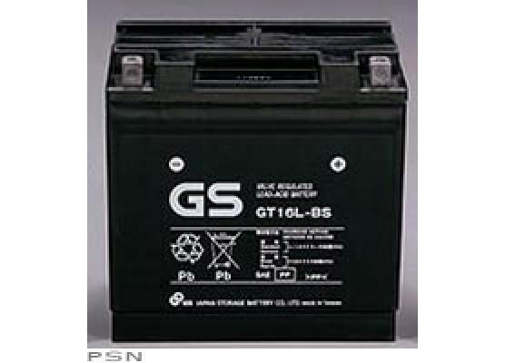 Μπαταρία μοτοσυκλετών GS Maintenance Free GT16L-BS - 12V 16 (10HR)Ah - 240 CCA(EN) εκκίνησης