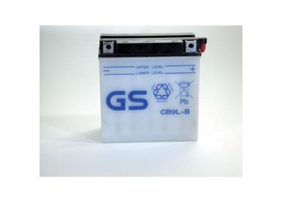 Μπαταρία μοτοσυκλετών ανοιχτού τύπου GS CB9L-B- 12V 9 (10HR)