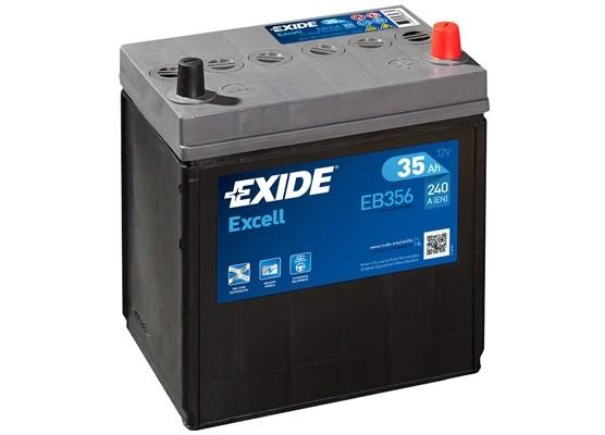 Μπαταρία αυτοκινήτου Exide Excell EB356 12V 35Ah - 240 CCA εκκίνησης