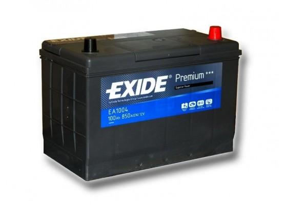 Μπαταρία αυτοκινήτου Exide Premium EA1004 - 12V 100 Ah - 850CCA A(EN) εκκίνησης